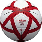 MOLTEN #4 Size 4 [F4G1500] - Red/Black - Bola Sepak / Soccer Ball